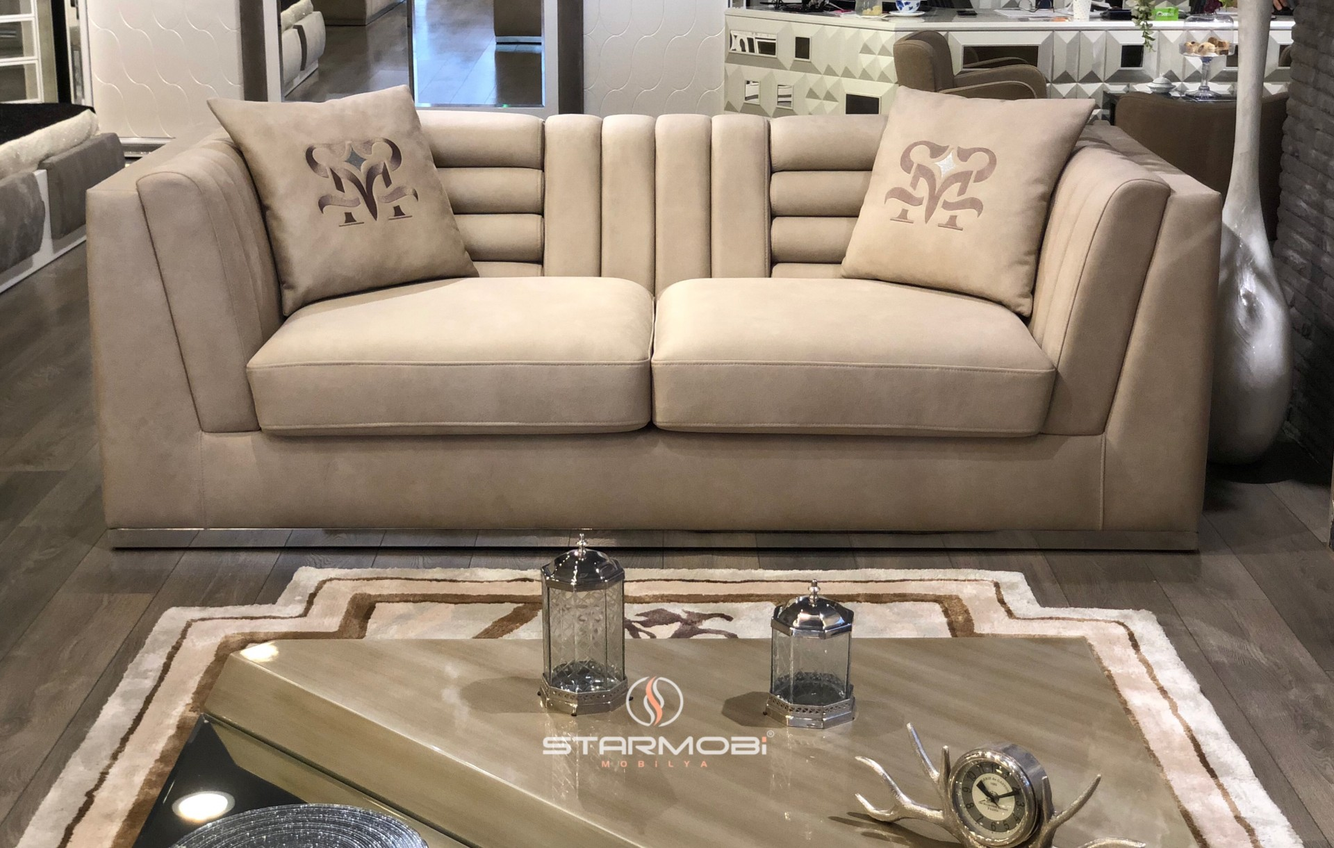 trussardi sofa set