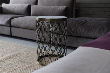 Drop Metal Side Coffee Table