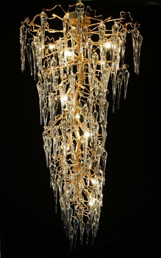 serip size chandelier