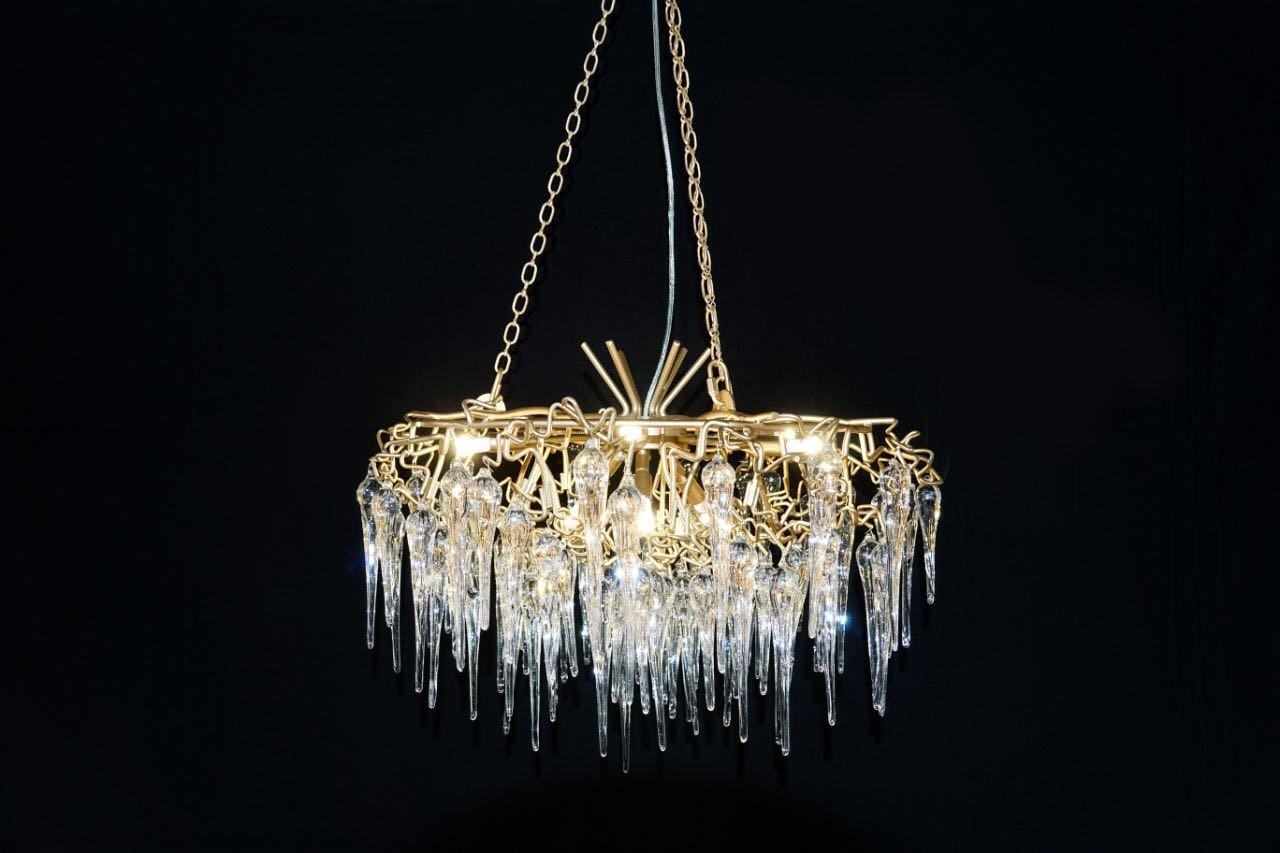 serip raund Chandelier